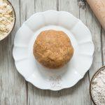 Ma pâte à tarte ig bas préférée : farine d'épeautre intégrale et soja