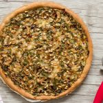 Pizza aux épinards, champignons et chèvre – ig bas