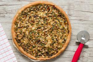 Read more about the article Pizza aux épinards, champignons et chèvre – ig bas