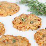 Cookies salés au jambon et parmesan