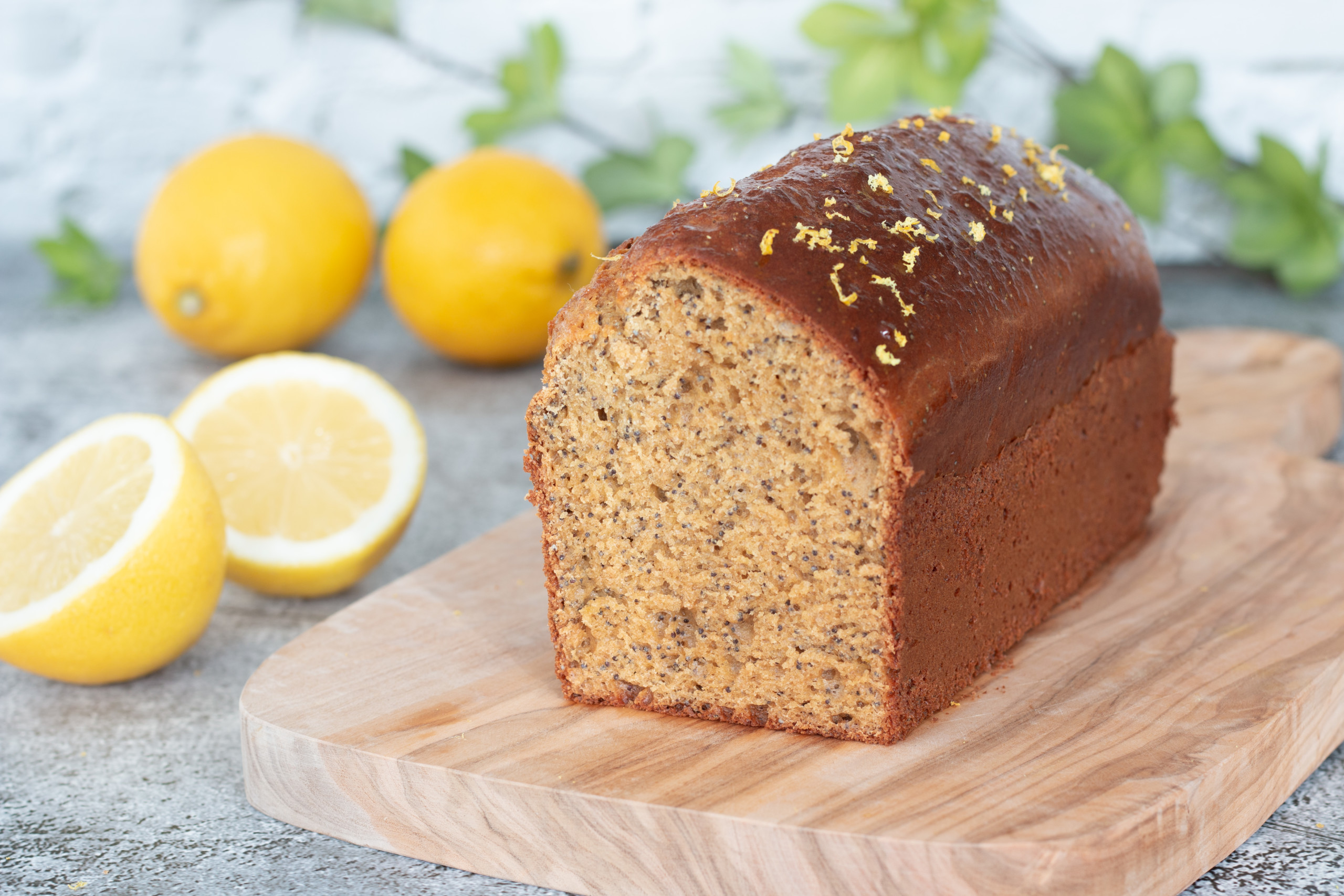 You are currently viewing Cake citron pavot ig bas