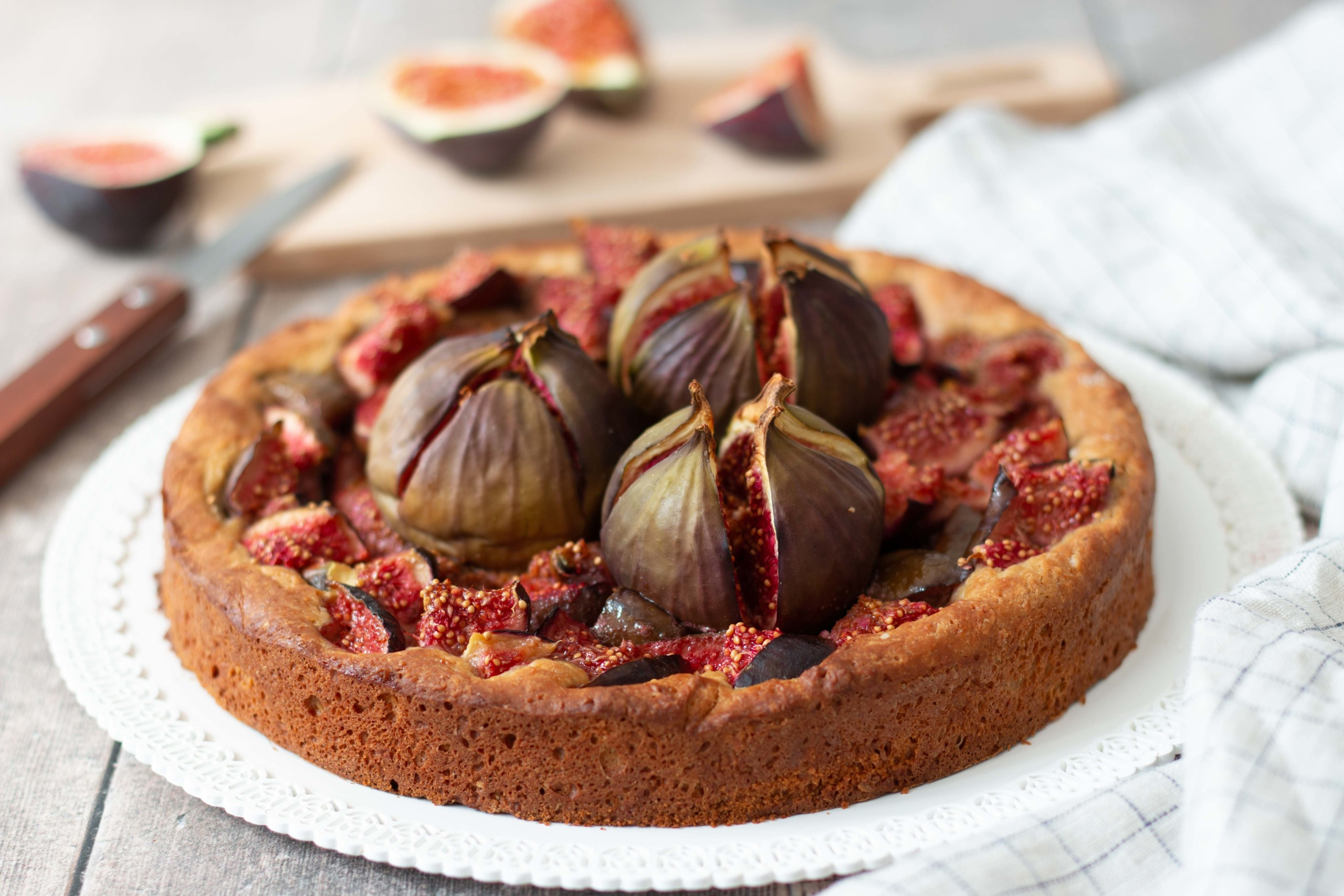 You are currently viewing Tarte aux figues fraiches