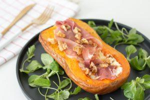 Read more about the article Courge butternut au chèvre et jambon italien
