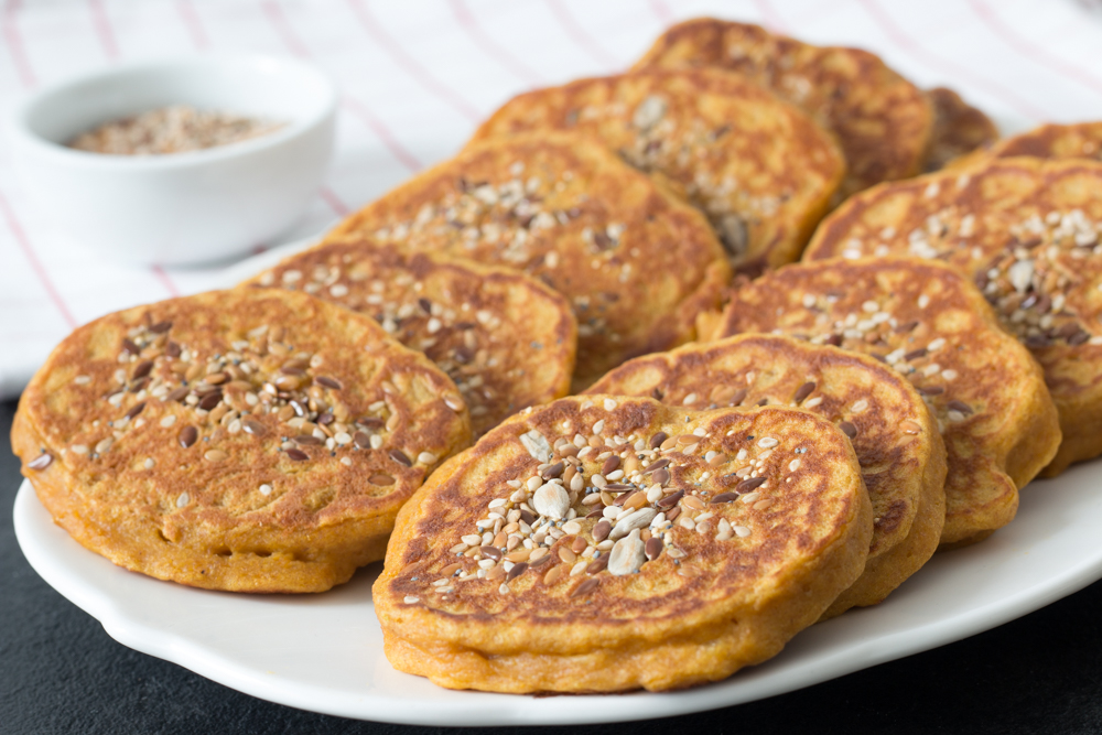 You are currently viewing Blinis à la courge butternut