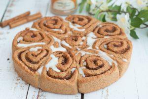 Cinnamon rolls ou brioche roulée à la cannelle
