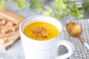 Soupe de pois cassés et carottes