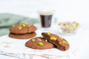 Cookies chocolat/pistache