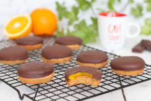 Biscuits pim's à l'orange ou jaffa cakes