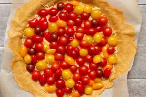 tarte rustique tomates