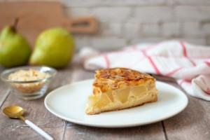 Read more about the article Clafoutis poires et amandes, sans lactose